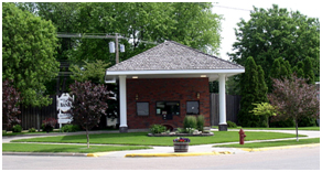 Bank front photo